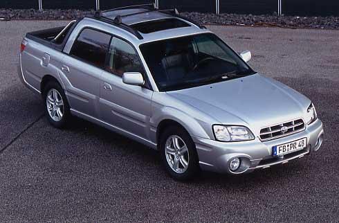 Subaru Baja Pickup Test