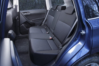 Subaru Forester hinten sitzen, Rücksitzbank