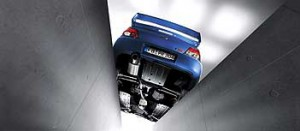 Subaru WRX STI Auspuff