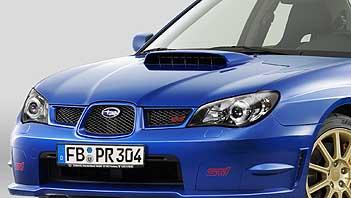 Subaru WRX STI Motorhaube