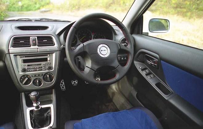 Subaru Impreza WRX STI Cockpit
