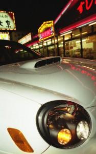 Subaru Impreza WRX STI Motorhaube