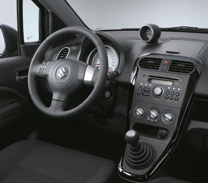 Suzuki Splash Cockpit, Schaltung