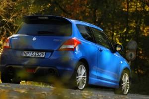 Suzuki Swift Sport Test Heck