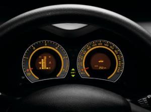 Toyota Auris Instrumente, Cockpit