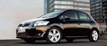 Toyota Auris Test
