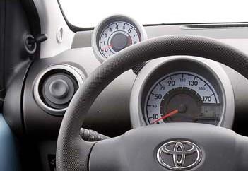Toyota Aygo Cockpit Instrumente
