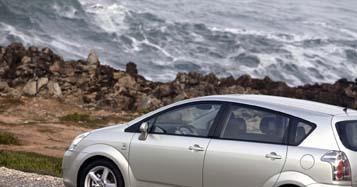 Toyota Corolla Verso Fahrbericht Test