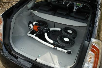 Toyota Prius Kofferraum trunk