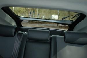 Toyota Prius Sicht hnten