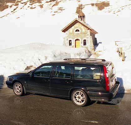 Volvo Kombi mit Gasantrieb Test