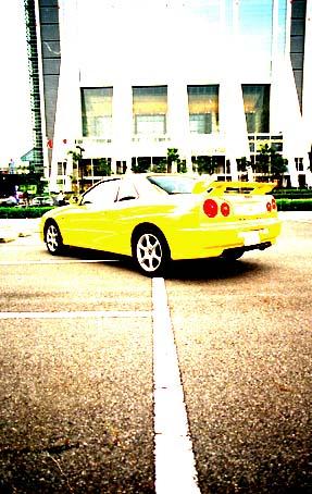 Nissan Skyline Coupe Test