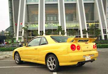 Nissan Skyline Coupe Test Japan