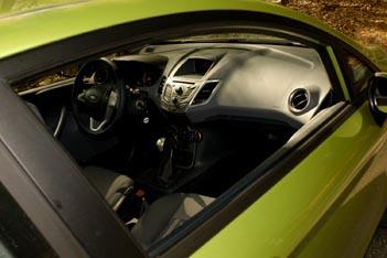 Ford Fiesta Test: Innenraum, interior