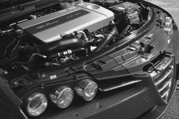 Alfa Romeo Brera Diesel Test: Motor, engine, Dieselmotor, 5 Zylinder, Fünfzylinder
