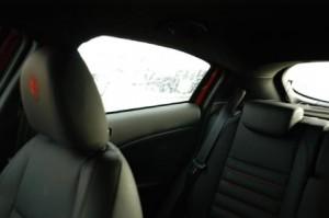 Alfa Giulietta mit Dieselmotor Test: Sicht nach hinten, Heck, Übersicht, Übersichtlichkeit, C-Säule, Säule