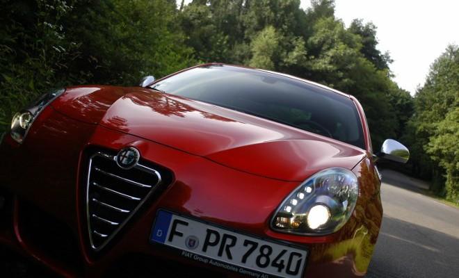 Alfa Giulietta QV Test