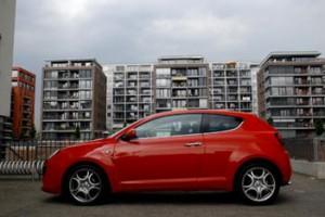 Alfa Romeo MiTo mit Dieselmotor im Testbericht: Seitenansicht, von der Seite, seitlich