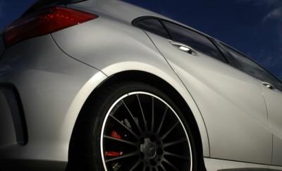 AMG Mercedes A45 Test