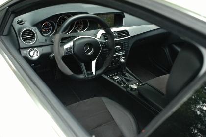AMG C53 Coupe: Cockpit
