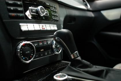 AMG C53 Coupe: Innenraum, Schaltung