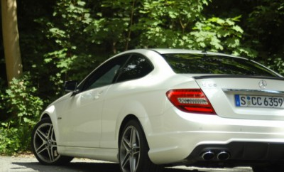 AMG C63 Coupe Test