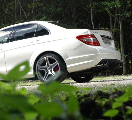 AMG Mercedes C63 im Testbericht