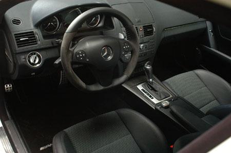 AMG C63 Test: Cockpit