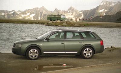 Audi A6 Allroad 2.7T im Test: Seitenansicht, von der Seite, Flanke