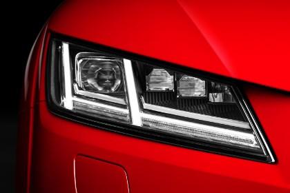 Audi TT 2015 Licht: Scheinwerfer, Tagfahrlicht, Abblendlicht, Xenon, Blinker