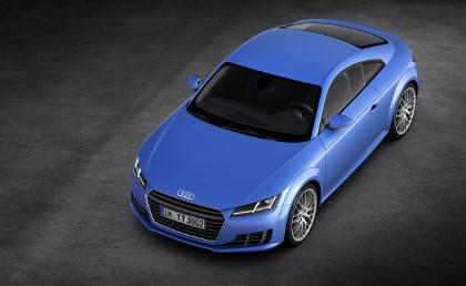Audi TT dritte Generation: von vorne, Seite, oben