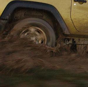 Jeep Wrangler Test: offroad im Gelände