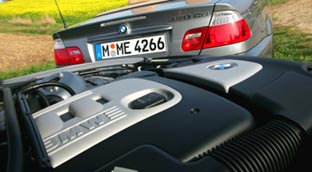 BMW 320d Cabrio: Motor, engine, Dieselmotor