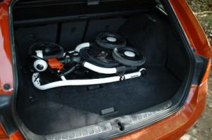 BMW 320d Touring: Kofferraum, Laderaum, beladen, trunk, boot
