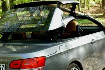 BMW 335i Cabrio im Test: Cabriodach