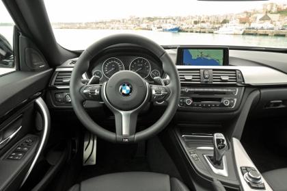 BMW 3er Gran Turismo: Cockpit, Armaturenbrett, Lenkrad