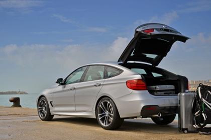 BMW 3er Gran Turismo Fahrbericht: Heckklappe, Koffer