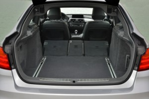 BMW 3er GT im Test: Kofferraum, trunk, boot, Ladekante, beladen, laden