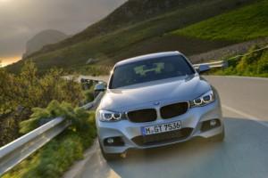 BMW 3er GT Test: Front, Scheinwerfer, von vorne