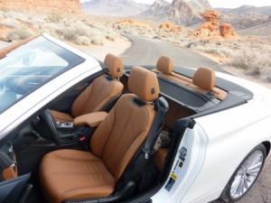 BMW 4er im Fahrbericht: Innenraum, interior, vier Sitzplätze