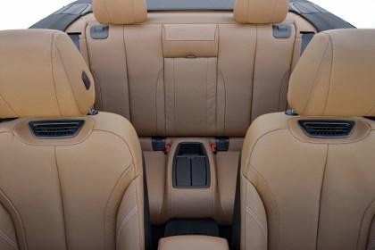 BMW 4er Cabrio Test: vier Sitze, hinten sitzen, Ledersitze, Platz auf der Rücksitzbank