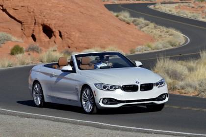 BMW 4er Cabrio Testbericht, Front, Seite, Dach offen