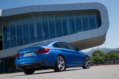 BMW 428i Gran Coupe Fahrbericht: Heck, Seitenansicht