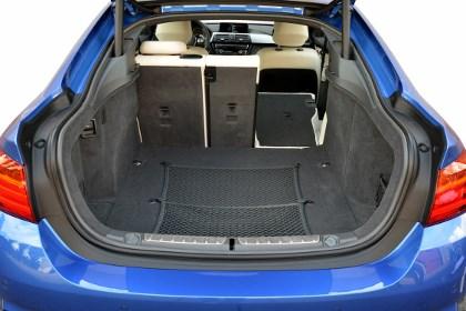 BMW 4er Gran Coupe: Kofferraum, Laderaum, laden, beladen, trunk, boot