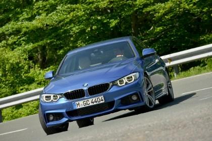 BMW 4er Gran Coupe Testbericht: Front, Scheinwerfer