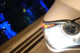 BMW 545i mit 333 PS im Test: Scheinwerfer