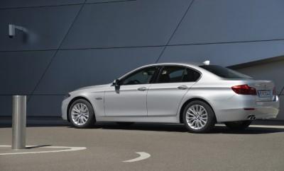 BMW 5er Facelift Fahrbericht: Seitenansicht, von der Seite