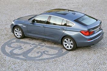 BMW 5er GT Fahrbericht: Seitenansicht, von der Seite, Heck