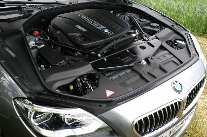 BMW 640d Cabrio Test: 313 PS Motor, Dieselmotor, engine