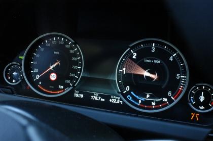 BMW 640d Coupé im Test: Anzeigen